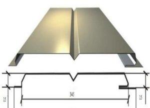 Размеры металлосайдинга и его виды
