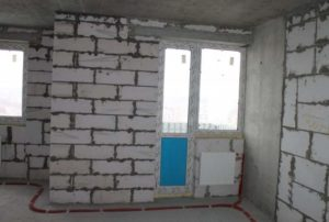 Внутренняя отделка дома из пеноблока