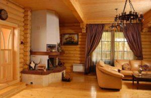 Что такое блок хаус в интерьере дома?