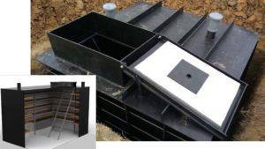 Кессон для погреба – как изготовить своими руками
