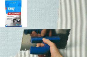 Гипсовая шпаклевка для стен и потолка